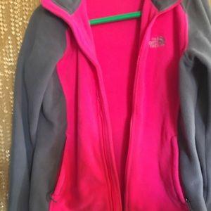 Northface fleece jacket M